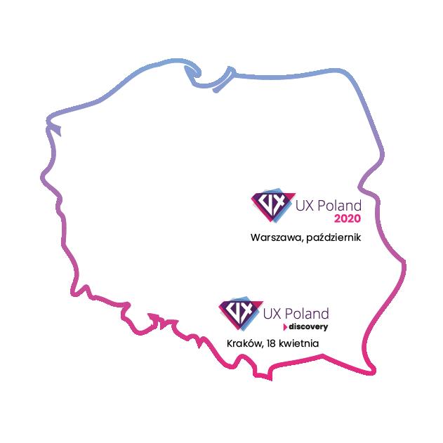 UX Poland w Warszawie od 2010 i w Krakowie od 2020